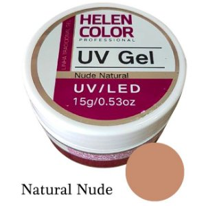 Gel Linha Natural Nude Helen Color Uv Led Unha Acrygel 15g - 3 Unidades