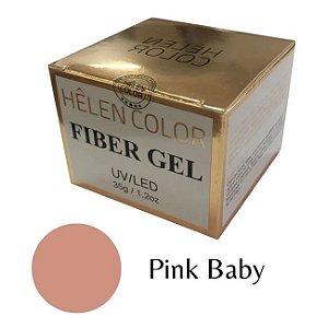 Gel Para Alongamento De Unhas Helen Color Pink Baby 35g - 3 Unidades