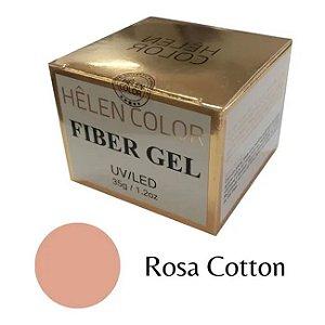 Gel Para Alongamento De Unhas Helen Color Rosa Cotton 35g - 3 Unidades