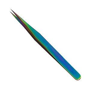 Pinça para Extensão de Cílios Reta Fan Nails - 3 Unidades