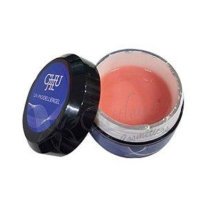 Gel Modelador Nude #5 UV LED Unhas Fibra Acrigel Chu Jie 15g - 3 Unidades