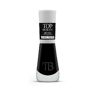 Esmalte Premium Cremoso Top Beauty 9ml Black Power - 6 Unidades