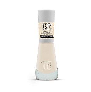 Esmalte Premium Cremoso Top Beauty 9ml Sorvete de Creme - 6 Unidades