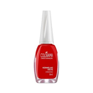Esmalte Colorama Vermelho Ivete 8ml - 6 Unidades