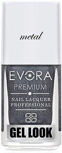 Esmalte Évora Premium Gel Look Metal(Caixa com 6)