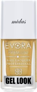 Esmalte Évora Premium Gel Look Midas (Caixa com 6)