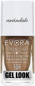 Esmalte Évora Premium Gel Look Scandalo (Caixa com 6)
