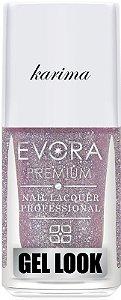 Esmalte Évora Premium Gel Look Karima  (Caixa com 6)