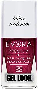 Esmalte Évora Premium Gel Look Ardentes (Caixa com 6)