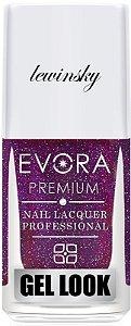 Esmalte Évora Premium Gel Look Lábios Lewinsky (Caixa com 6)