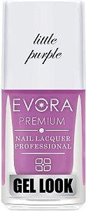 Esmalte Évora Premium Gel Look  LITTE PURPLE (Caixa com 6)