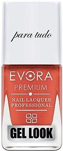 Esmalte Évora Premium Gel Look Lábios Para tudo(Caixa com 6)