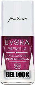 Esmalte Évora Premium Gel Look Lábios Passione (Caixa com 6)