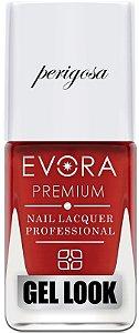 Esmalte Évora Premium Gel Look Lábios Perigosa (Caixa com 6)