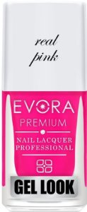Esmalte Évora Premium Gel Look  Real Pink (Caixa com 6)