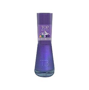 Esmalte Premium Cintilante Top Beauty 9ml Céu dos Andes - 6 Unidades