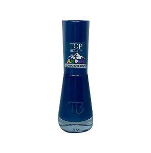 Esmalte Premium Cremoso Top Beauty 9ml Glacialmente Linda - 6 Unidades
