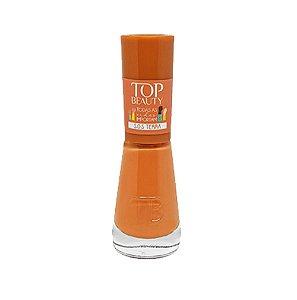 Esmalte Premium Cremoso Top Beauty 9ml S.O.S Terra - 6 Unidades