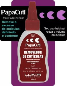 REMOVEDOR DE CUTÍCULAS- Papa Cuti - Removedor de Cutículas (Caixa com 3)