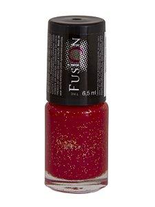 Esmalte Fusion Gliter Vermelho (Caixa Com 12)