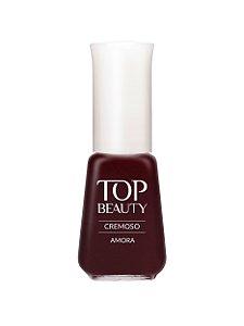Esmalte Top Beauty Cremoso Amora (Caixa com 6)