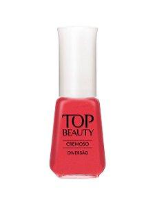 Esmalte Top Beauty Cremoso Diversão  (Caixa com 6)