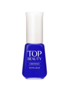Esmalte Top Beauty Cremoso Royal Blue (Caixa com 6)