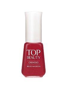 Esmalte Top Beauty Cremoso Beijo na Boca - 6 unidades
