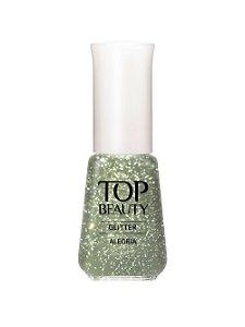 Esmalte Top Beauty Gliter Alegria(Caixa com 6)