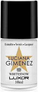 Esmalte Luciana Gimenez WHITESNOW (Caixa com 6)