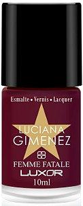 Esmalte Luciana Gimenez Femme Fatale (Caixa com 6)