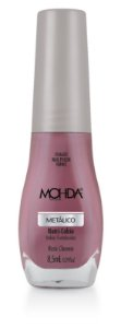 Esmalte Mohda Metalico Rose Chome - 6 unidades