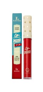 Lip Matte Latika Batom Líquido Vermelho nº20 (Caixa com 6) - ATACADO