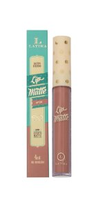Lip Matte Latika Batom Líquido Nude nº 34 (Caixa com 6 ) - ATACADO. Nesta promoção a unidade sai por 12,00 reais.