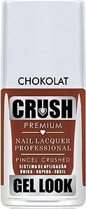Esmalte Crush Chocolat Gel Look - 6 unidades