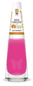 Esmalte Ludurana Rosa Chiclete Rosa - Caixa com 6
