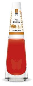 Esmalte Ludurana Red Cereja vermelho - Caixa com 6