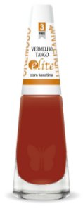 Esmalte Ludurana Vermelho Tango vermelho - 6 unidades