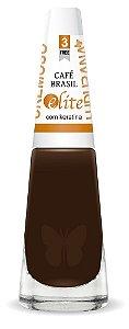 Esmalte Ludurana café Brasil Preto- Caixa com 6