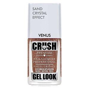 Esmalte Crush Gel Look Cristal Venus  - 6 unidades