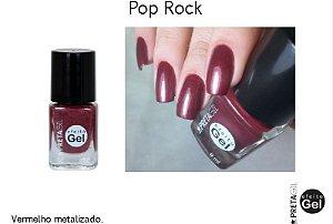Esmalte Preta Gil Efeito Gel Pop Rock - 6 unidades