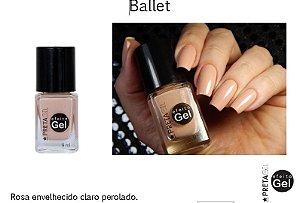 Esmalte Preta Gil Efeito Gel Ballet - 6 unidades