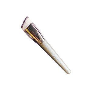 Pincel kabuki chanfrado para base liquido - 3 unidades