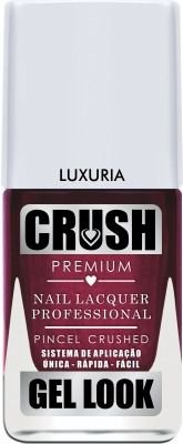 Esmalte Crush Gel Look Luxuria - 6 unidades