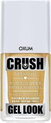 Esmalte Crush Gel Look Oxum - 6 unidades