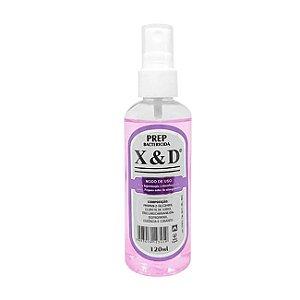 Preparador Unha De Gel Spray Anti - Bactericida X&d Prep 120ml - 3 Unidades