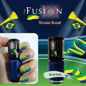 Coleção esmalte Torcida Brasil fusion com 6 cores