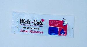 Kit Emoliente Luvas Higienicas Moli-cute - 20 unidades