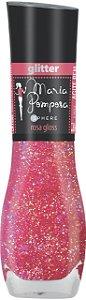 Esmalte Maria Pomposa Rosa Gloss 5 free -caixa com 6