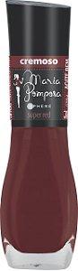 Esmalte Maria Pomposa Super Red 5 free - 6 unidades